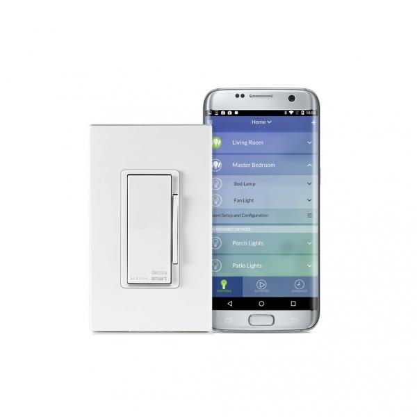 Leviton DW1KD-1BZ Akıllı Wi-Fi 1000W Akkor/450W LED Dimmer
