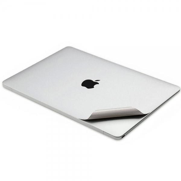 Leze MacBook Air Tam Koruma Çıkartması (13-13.3inç)(Silver)