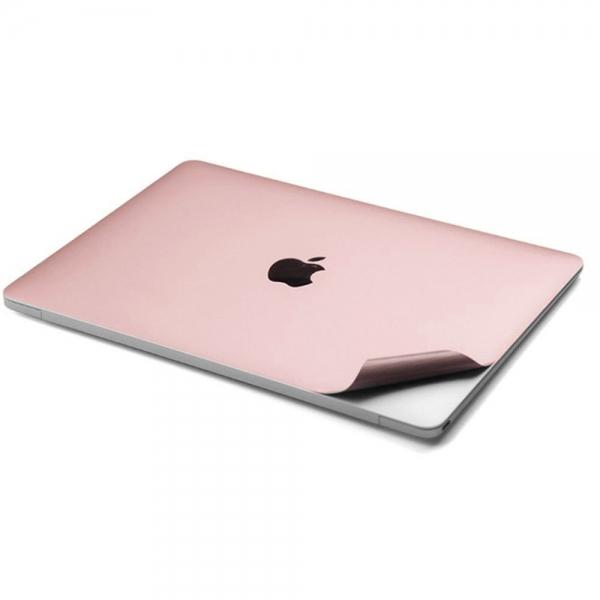 Leze MacBook Air Tam Koruma Çıkartması (13-13.3inç) (Rose Gold)