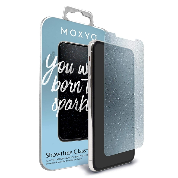 MOXYO iPhone 11 Pro Showtime Simli Cam Ekran Koruyucu (Blue)