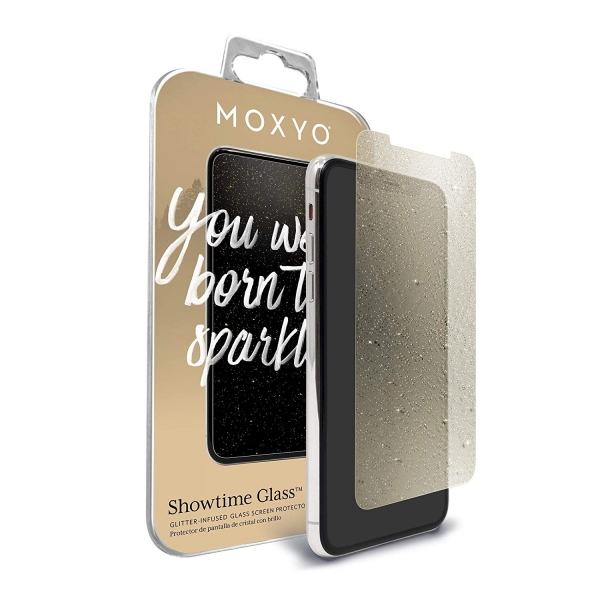 MOXYO iPhone 11 Pro Showtime Simli Cam Ekran Koruyucu (Gold)