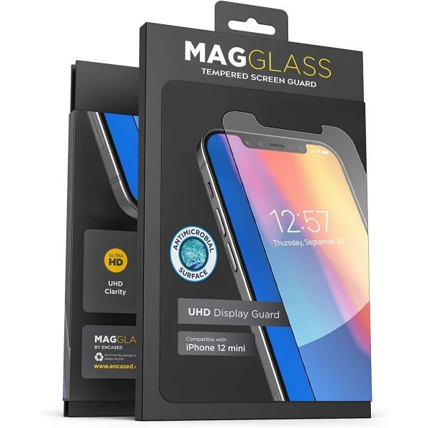 Magglass iPhone 12 Mini Mat Temperli Cam Ekran Koruyucu