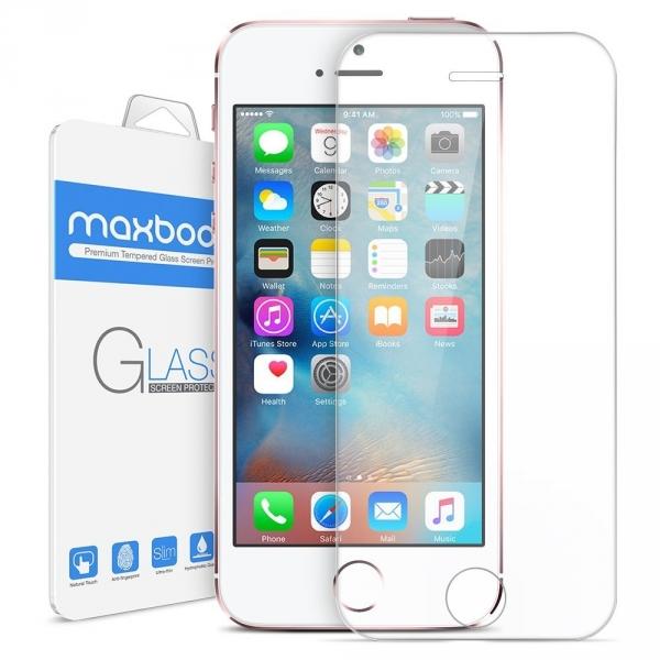 Maxboost Apple iPhone 5/5S/5C/SE Temperli Cam Ekran Koruyucu