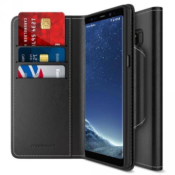 Maxboost Samsung Galaxy Note 8 mWallet Serisi Cüzdan Kılıf