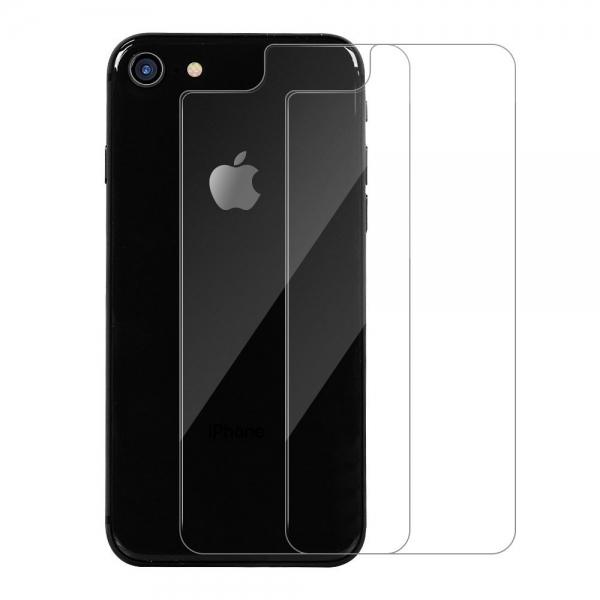 Maxdara iPhone 8 Arka Kapak Temperli Cam Koruyucu (2 Adet)