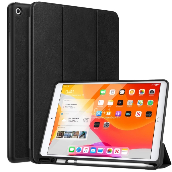 MoKo iPad Kalem Bölmeli Kılıf (10.2 inç)(7.Nesil)