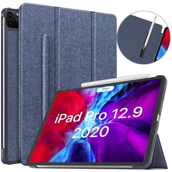 Moko iPad Pro Kalem Bölmeli Kılıf (12.9 inç)(4.Nesil)