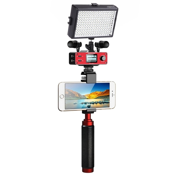 Movo Saramonic Akıllı Telefon Video Seti (160 LED)