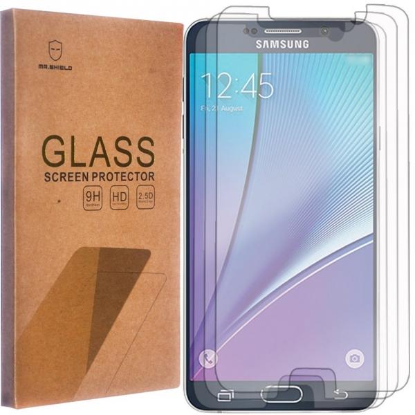 Mr Shield Samsung Galaxy Note 5 Temperli Cam Ekran Koruyucu (3 Adet)