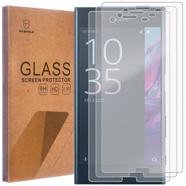 Mr Shield Sony Xperia XZ Temperli Cam Ekran Koruyucu (3 Adet)