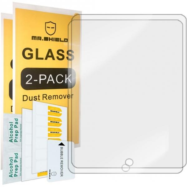 Mr Shield iPad Pro 9.7 inç / iPad Air / iPad Air 2 Temperli Cam Ekran Koruyucu (2 Adet)