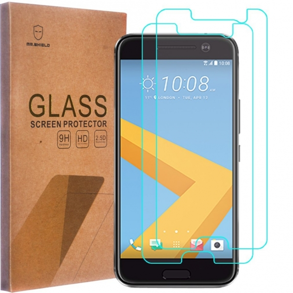 Mr Shield HTC 10 Temperli Cam Ekran Koruyucu (2 Adet)