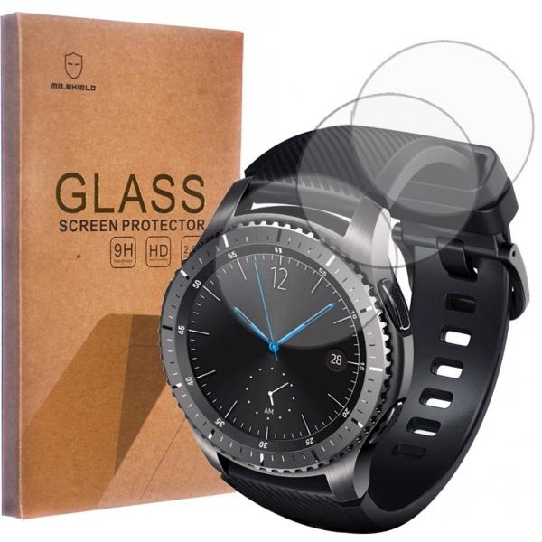Mr Shield Samsung Gear S3 Temperli Cam Ekran Koruyucu (3 Adet)
