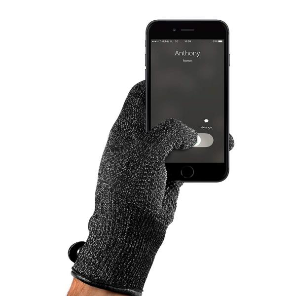 Mujjo Çift Katmanlı Dokunmatik Ekran Eldiveni (Small)
