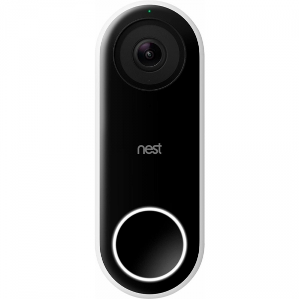 Nest Hello Wi-Fi Akıllı Kameralı Kapı Zili