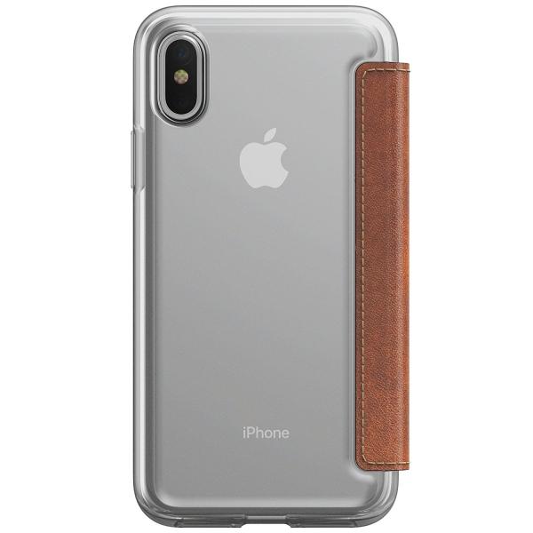 Nomad iPhone X Şeffaf Cüzdan Kılıf