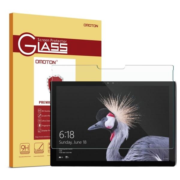 OMOTON Microsoft Surface Pro Temperli Cam Ekran Koruyucu