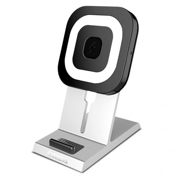 ORDA Qi Sertifikalı Kablosuz Şarj Cihazı