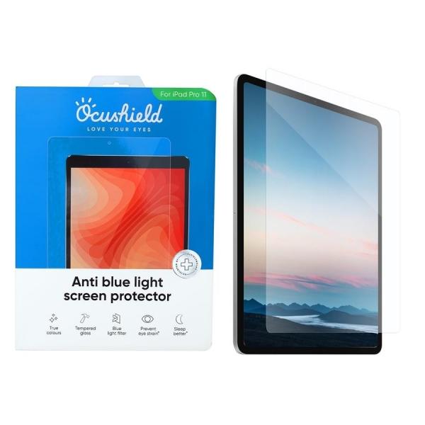 Ocushield iPad Pro Anti Mavi Işık Temperli Cam Ekran Koruyucu (12.9 inç)