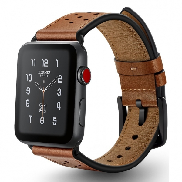 Ocyclone Apple Watch Deri Kayış (42mm)