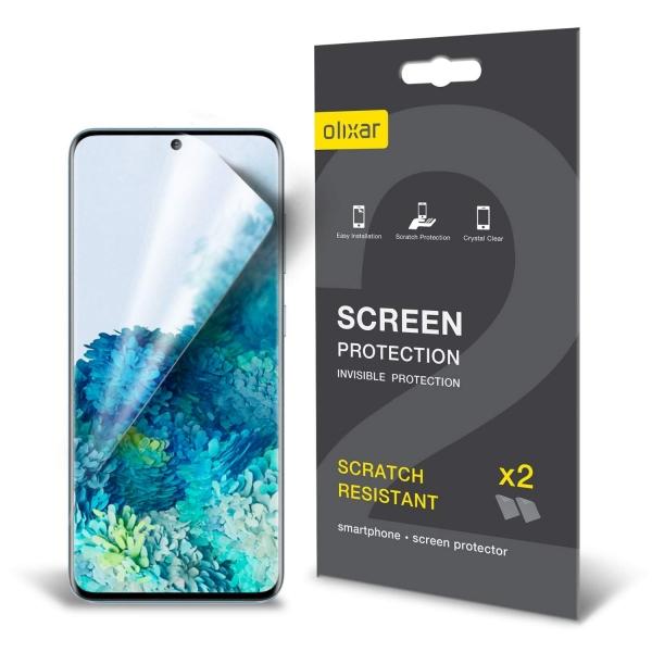 Olixar Samsung Galaxy S20 Ekran Koruyucu Film (2 Adet)