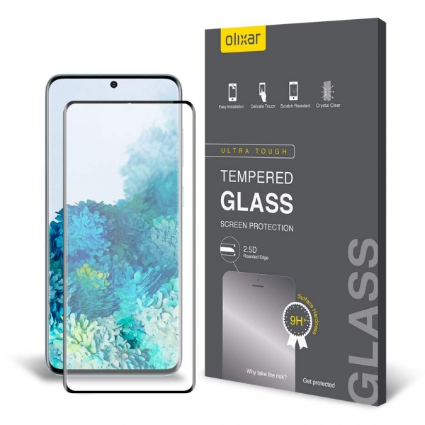 Olixar Samsung Galaxy S20 Temperli Cam Ekran Koruyucu