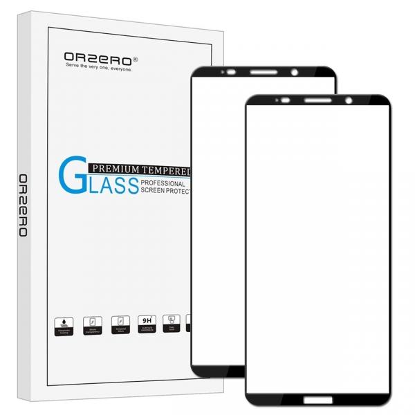 Orzero Huawei Mate 10 Pro Temperli Cam Ekran Koruyucu (2 Adet)