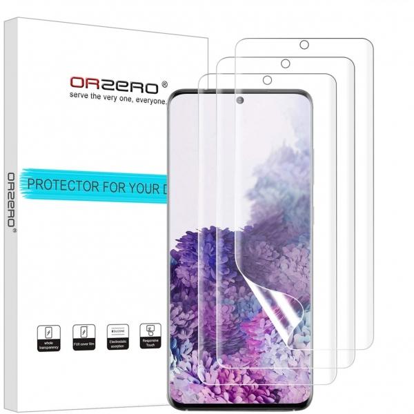 Orzero Samsung Galaxy S20 Plus Ekran Koruyucu Film (3 Adet)
