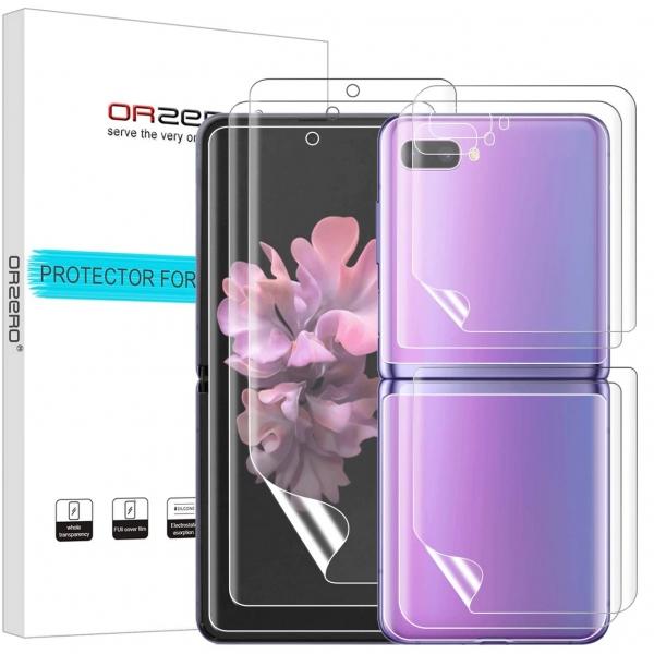 Orzero Samsung Galaxy Z Flip Ekran Koruyucu (3 Set)