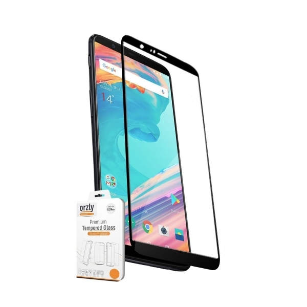 Orzly OnePlus 5T Temperli Cam Ekran Koruyucu (2 Adet)