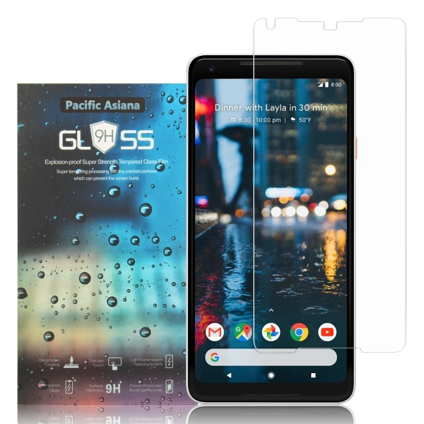 Pacific Asiana Google Pixel 2 XL Balistik Temperli Cam Ekran Koruyucu (2 Adet)