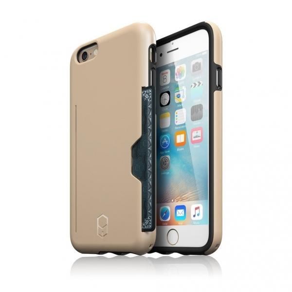 Patchworks iPhone 6S Plus/6 Plus Kart Bölmeli Kılıf (Mil-STD-810G)
