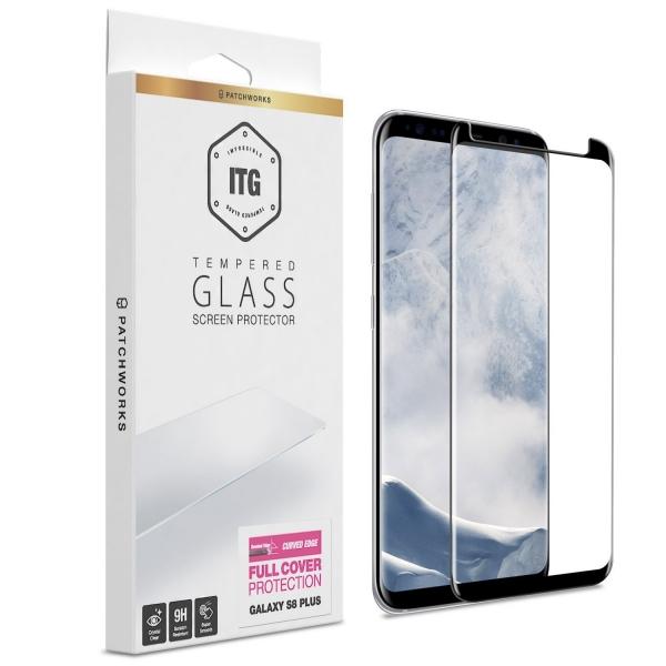 Patchworks Samsung Galaxy S8 Plus ITG Temperli Cam Ekran Koruyucu