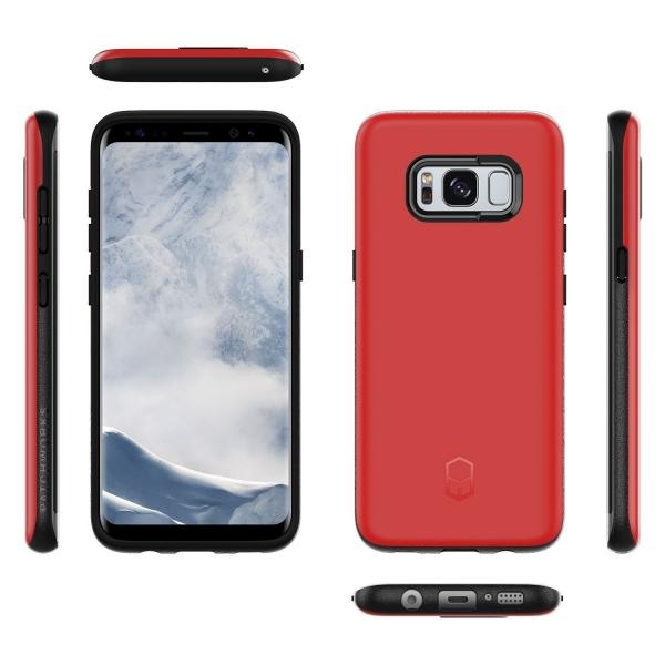 Patchworks Samsung Galaxy S8 Plus Kılıf (Mil-STD-810G)