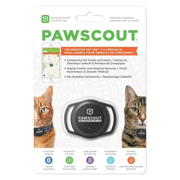 Pawscout Akıllı Evcil Hayvan Takip Cihazı (Kedi)