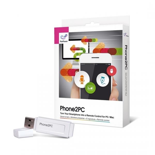 PenPower PC/Mac İçin Telefon Kontrollü Uzaktan Kumanda