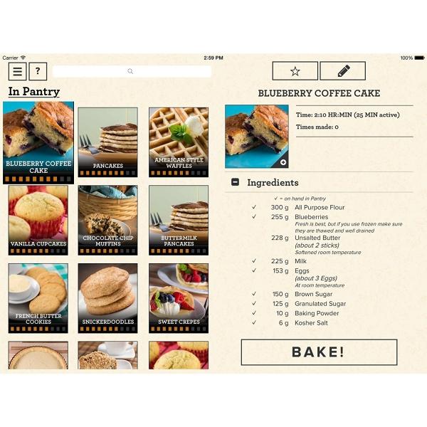 Perfect bake pro mutfak in ak ll l ek for Perfect kitchen pro smart scale