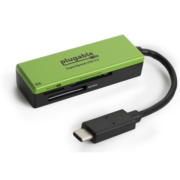Plugable USB Type-C Flash Memory Kart Okuyucu