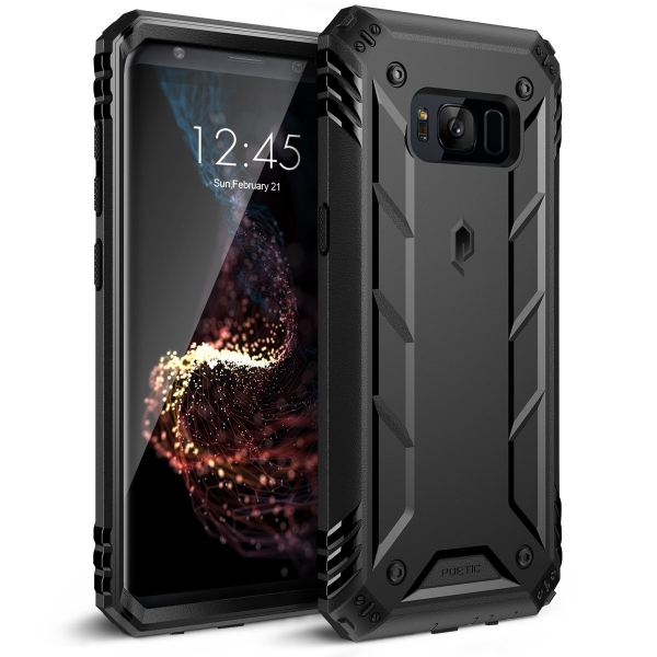 Poetic Galaxy S8 Plus Rugged Heavy Duty Kılıf