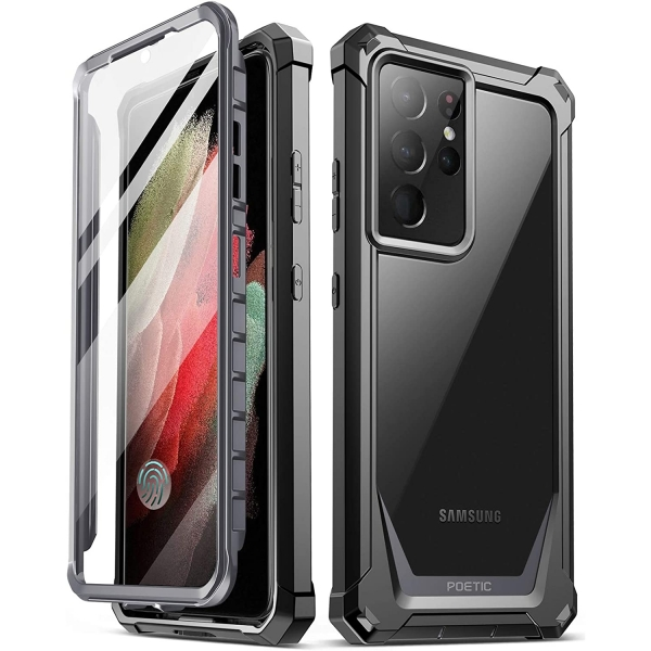 Poetic Samsung Galaxy S21 Ultra Guardian Serisi Kılıf (MIL-STD 810G)