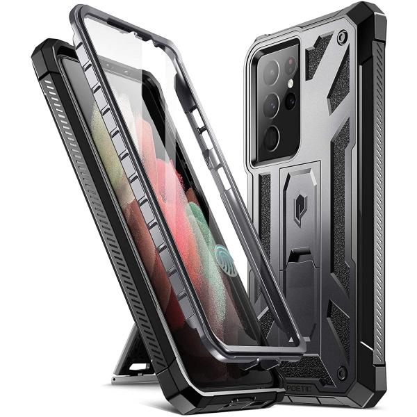 Poetic Samsung Galaxy S21 Ultra Spartan Kılıf (MIL-STD-810G)