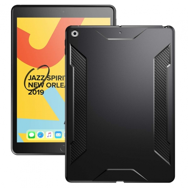 Poetic iPad Karbon Shield Serisi Kılıf (10.2 inç)(7. Nesil)