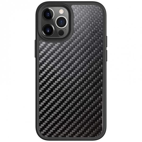 Prodigee iPhone 12 Pro Max Safetee Carbon Serisi Kılıf (MIL-STD-810G)
