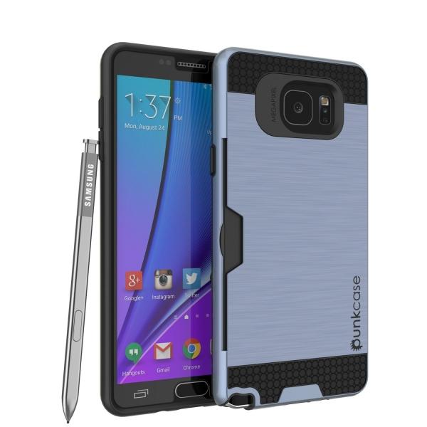 Punkcase Samsung Note 5 Slot Serisi Armor Kapak Kılıf (MIL-STD-810G)