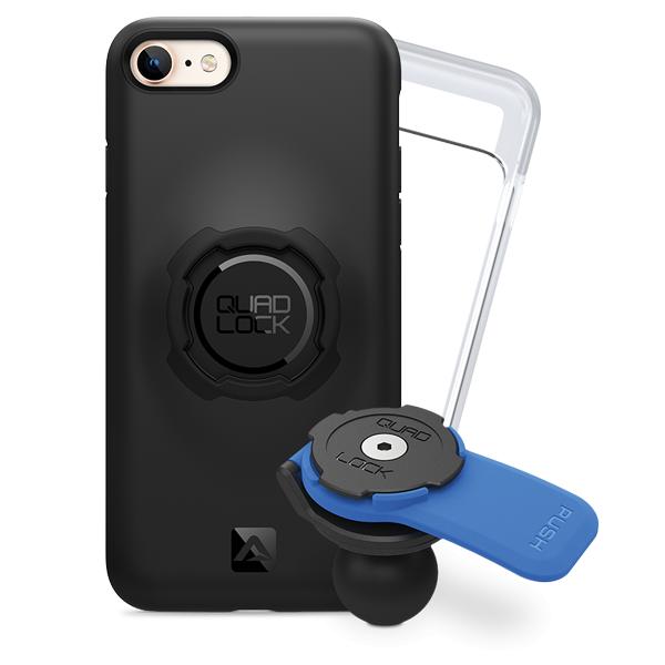 Quad Lock Apple iPhone 8 Motosiklet Seti