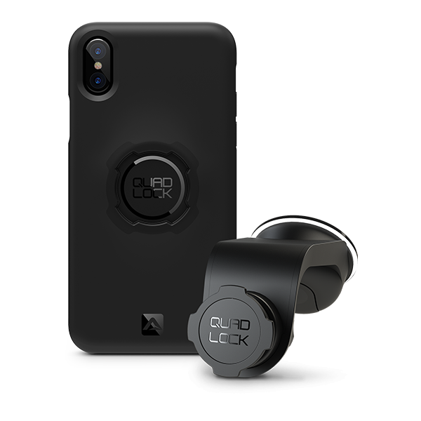 Quad Lock Apple iPhone XS Max Araç Seti