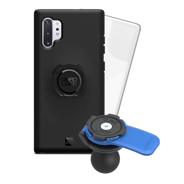 Quad Lock Samsung Galaxy Note 10 Plus Motosiklet Seti