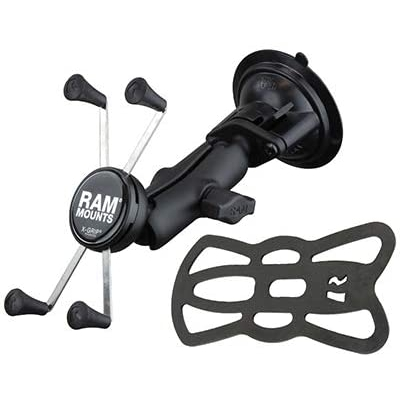 RAM X-Grip Twist-Lock Vantuzlu Araç İçi Telefon Tutucu