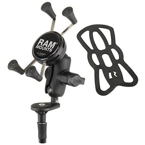 RAM X-Grip Motosiklet Çatal Sap Tabanlı Telefon Tutucu