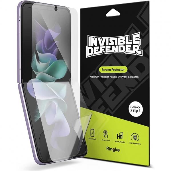 Ringke Samsung Galaxy Z Flip 3 Ekran Koruyucu Film (2 Adet)